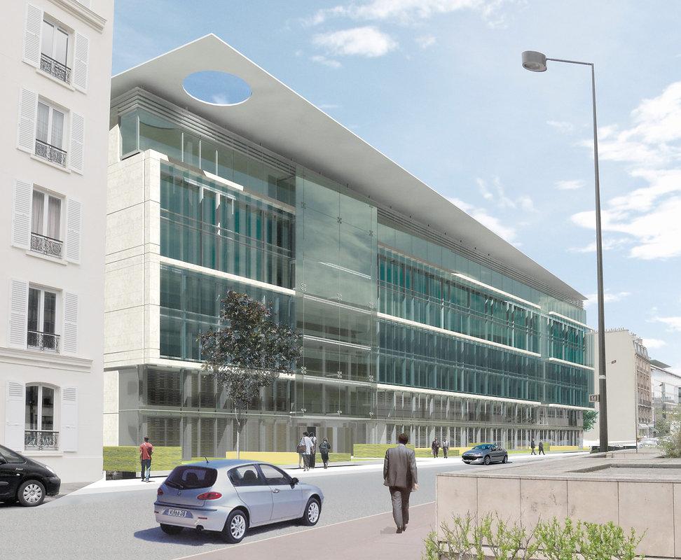 Bâtimen de bureaux - Immobilier d'enteprise - Neuilly-sur-Seine - Macifimo - - Arnaud Doiteau Architecte - IF Architectes - IF Studio