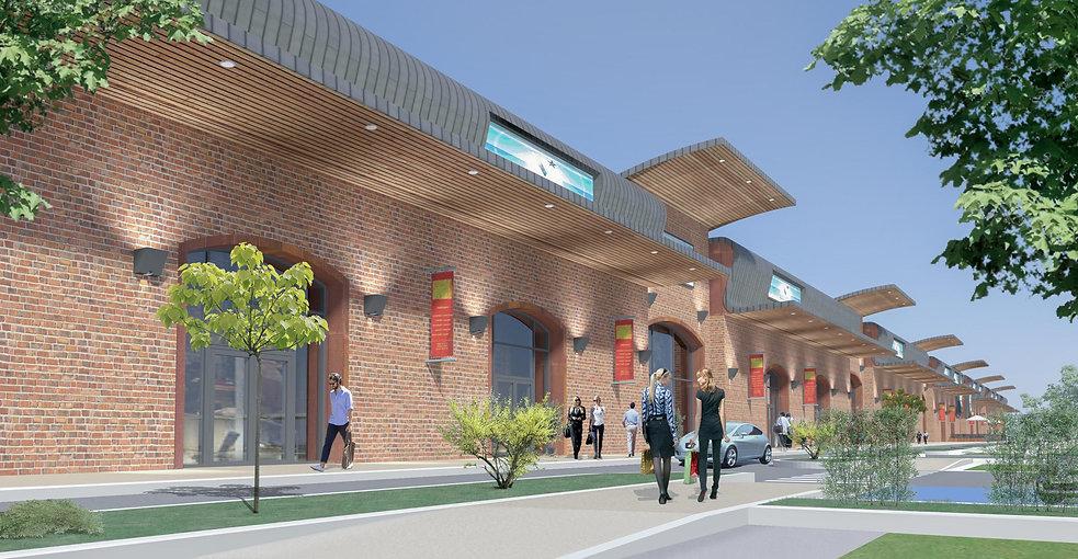 Retail - Coignières - Arnaud Doiteau Architecte – IF Studio – IF Architectes