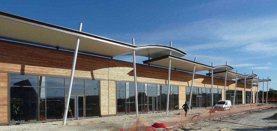 Retail Park - Montereau-Fault-Yonne - - Arnaud Doiteau Architecte – IF Studio