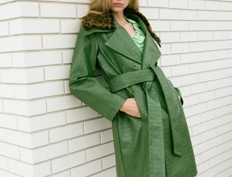 EXCLUSIVE - REPTILE UPSCALE COAT *LIMITED EDITION