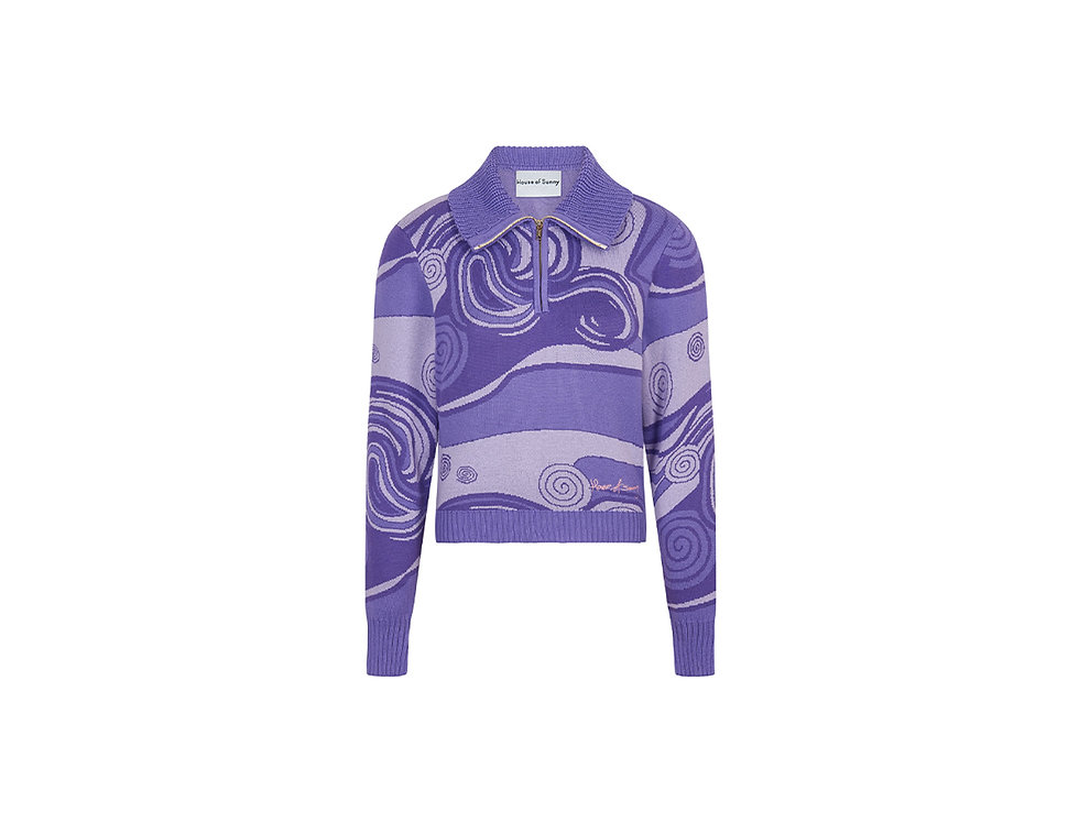 INDIGO SKIES TRACKSUIT TOP
