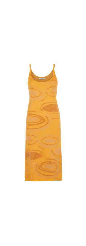 HOCKNEY DRESS - ORANGE