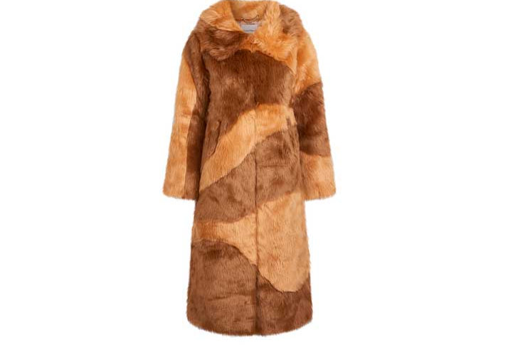 DIDDY FAUX FUR STONE & BROWN