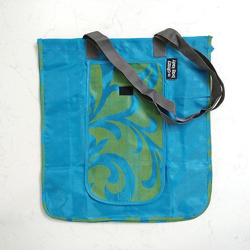 Wallet Bag-Blue Leaf