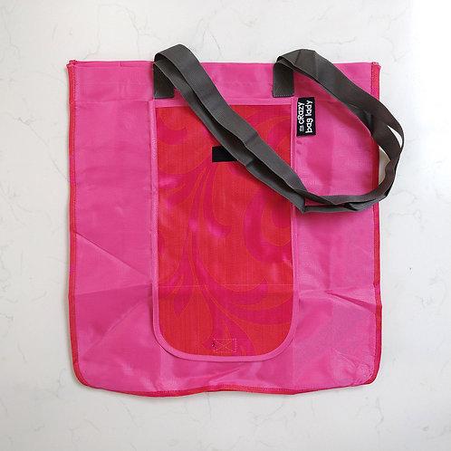 Wallet Bag-Pink Leaf