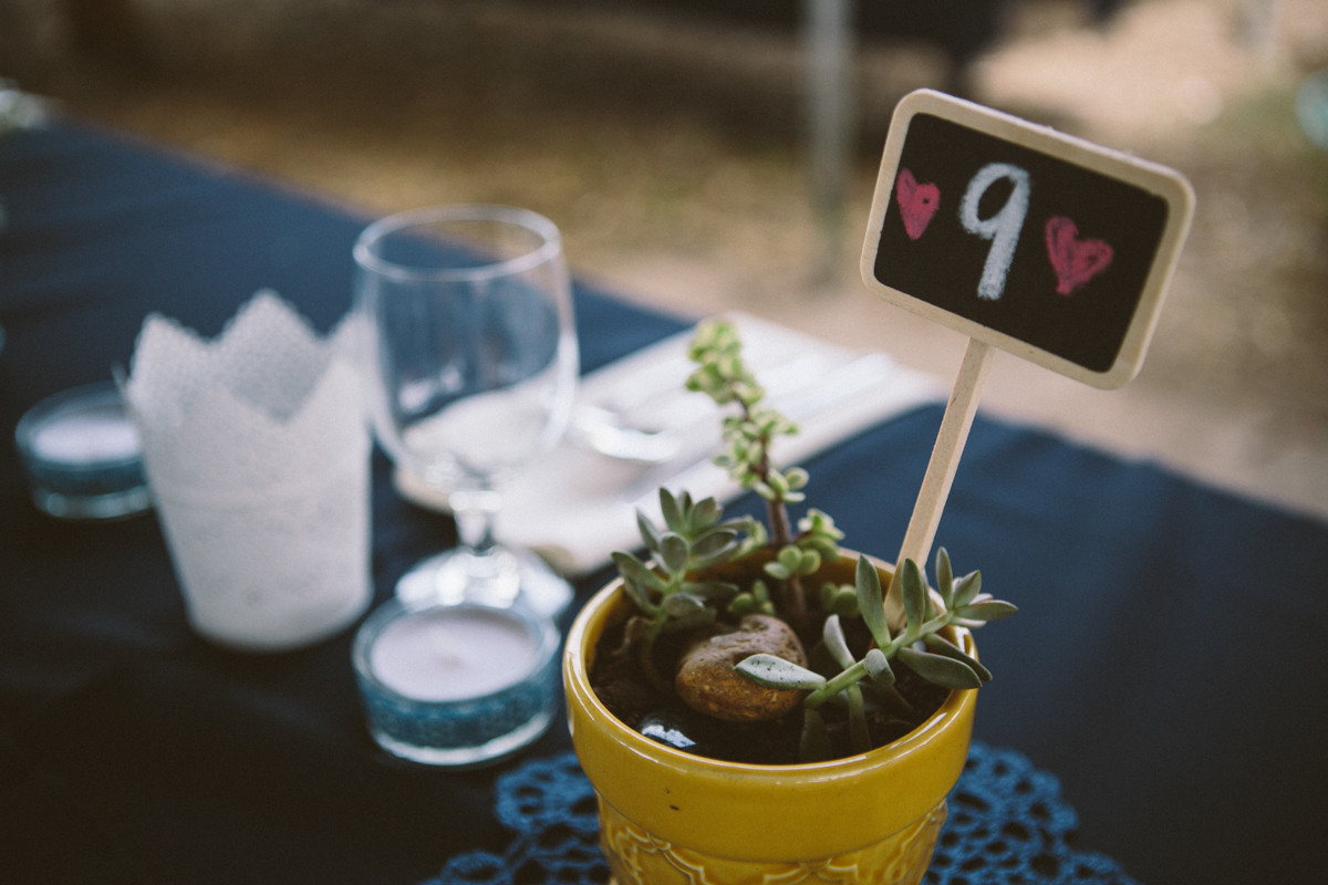 Get creative with your table settings...