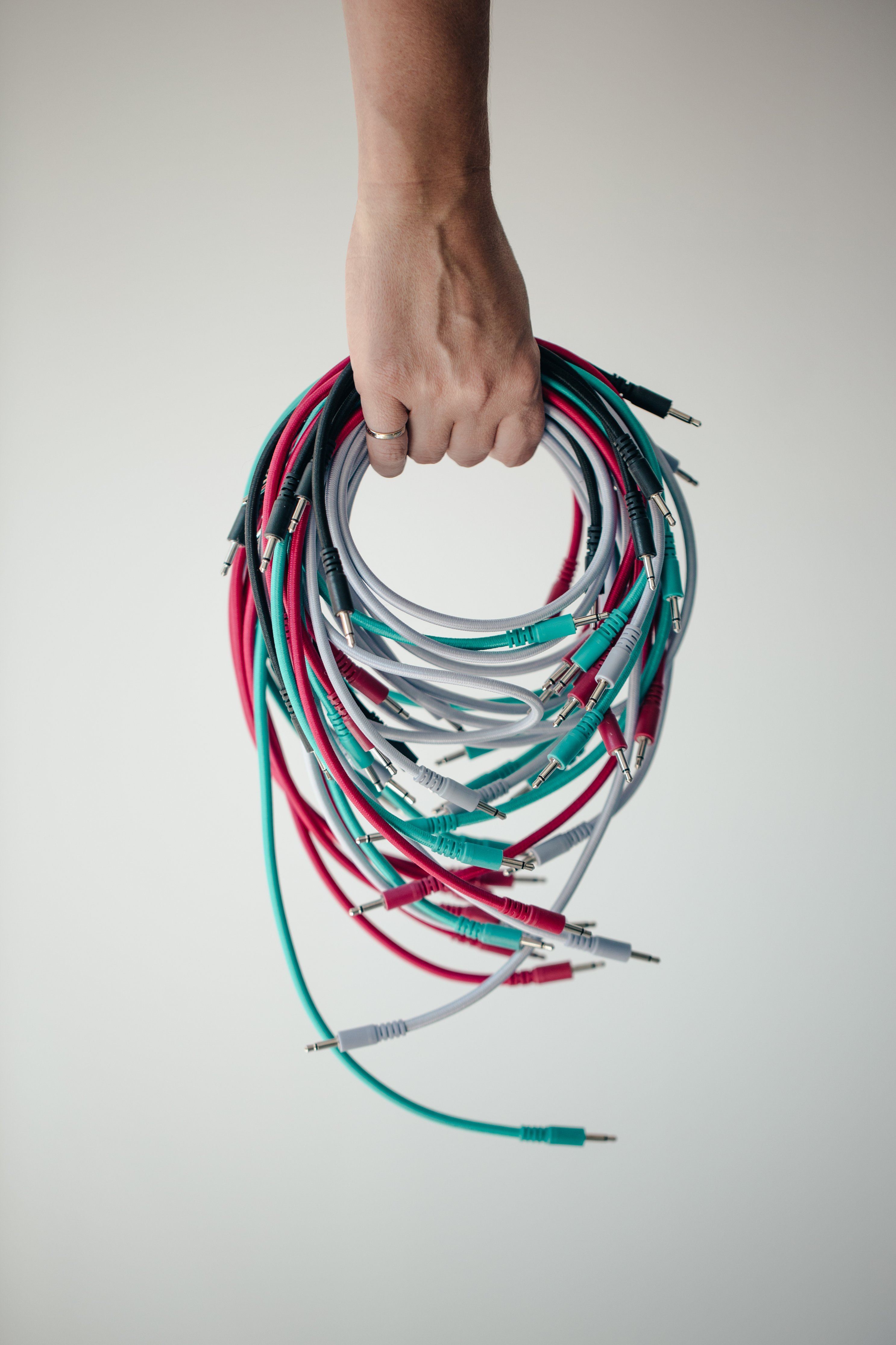 hand-full-of-wires