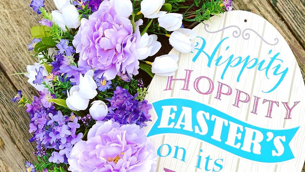 Hippity Hoppity Easter Wreath
