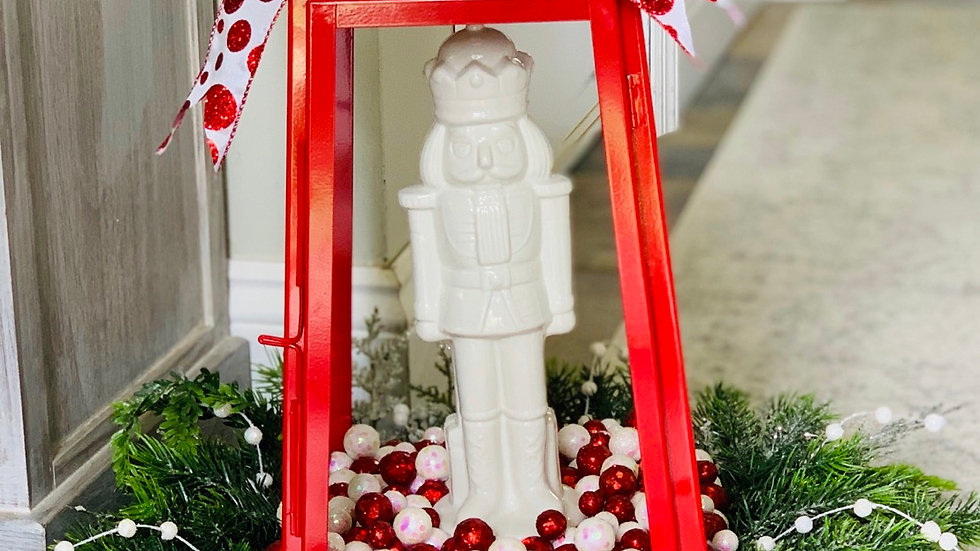 Nutcracker Holiday Lantern-Local Albany delivery only