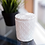 Thumbnail: White Glass Candle with Lid