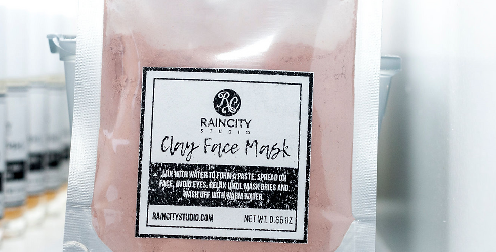 Revitalizing Clay Face Mask