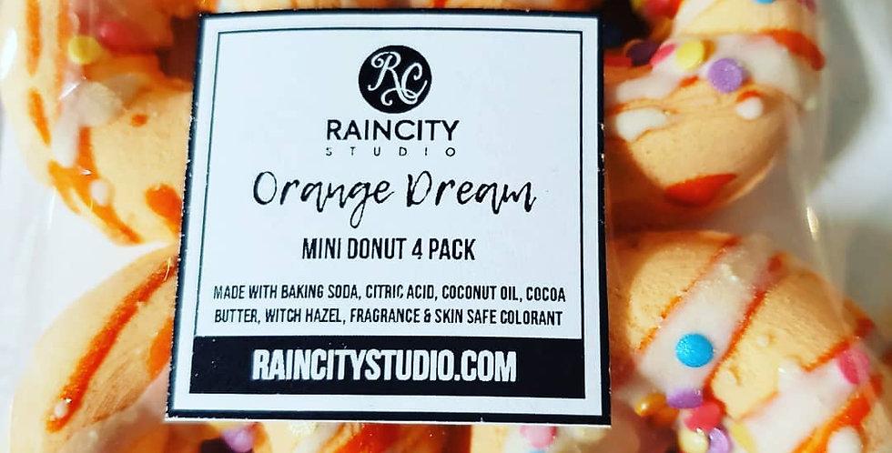 Mini Donut Bath Bomb 4 Pack