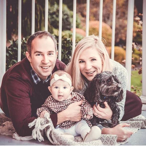 Hollywood school house family photo