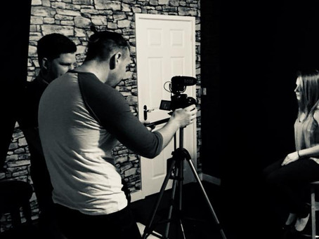 We have been shooting teaser trailers!