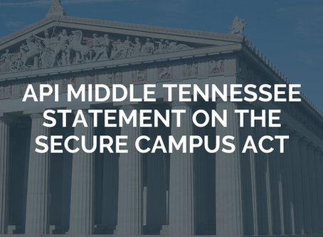 Statement on the SECURE CAMPUS Act