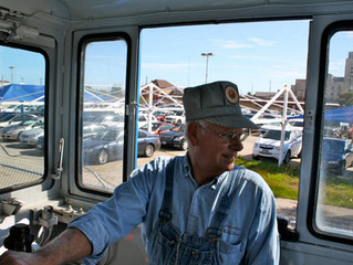 Morris Gould Retiring as Executive Director of the Galveston Railroad Museum