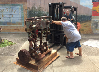 Marine Compound Engine Now On Display