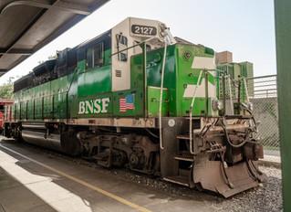 BNSF donates locomotive to Museum