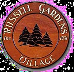 Russell Gardens Village Emblem