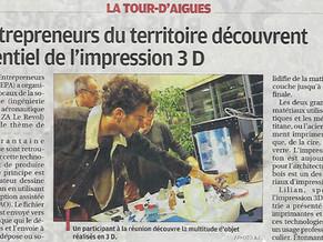 """DA&T accueille les """"ENTREPRENEURS DU PAYS D'AIGUES"""""""