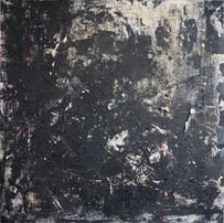 [Sans titre], 2012, Acrylique, encre et plâtre sur plexiglas, 99x100