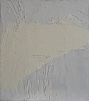 [Sans titre], 2016, Acrylique, plâtre sur bois, 42x49