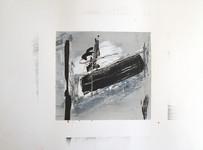 [Sans titre], 2017, Acrylique, encre sur papier toilé, 32x24