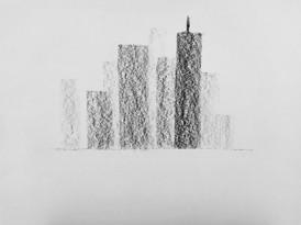 Rythmes verticaux : les grattes-ciel