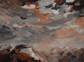 Paysage à l'huile / Couleurs Terres