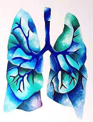 A canvas of lungs