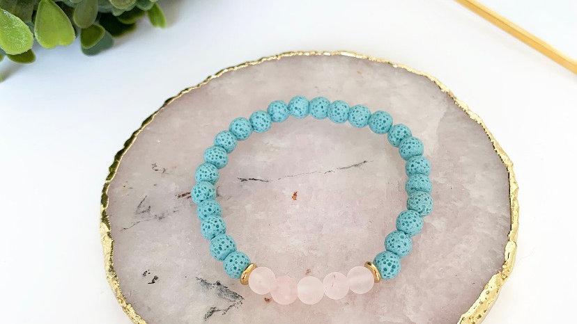 Blue skies Diffuser Bracelet