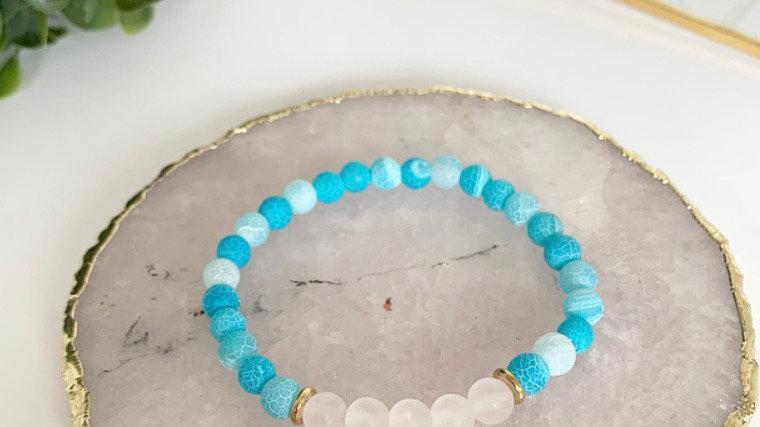 Neon Blue Agate