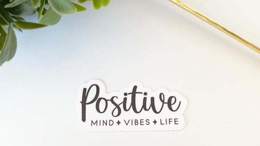 Positive sticker