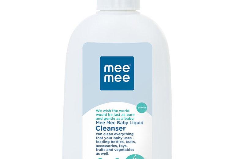Mee Mee Anti Bacterial Baby Liquid Cleanser (Cleanser - 500 ml - Bottle)