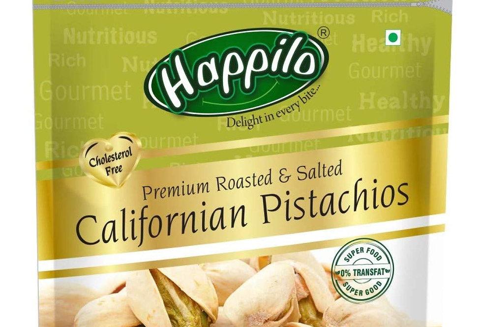 Happilo Premium 100% Californian Pistachios 500g, Value Pack