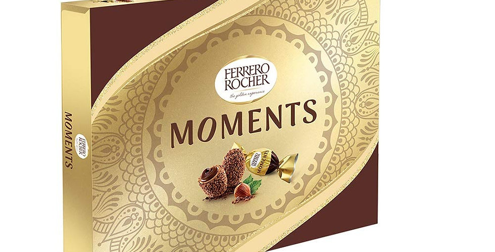Ferrero Rocher Moments,(Box of 24 Units), 139.2 g