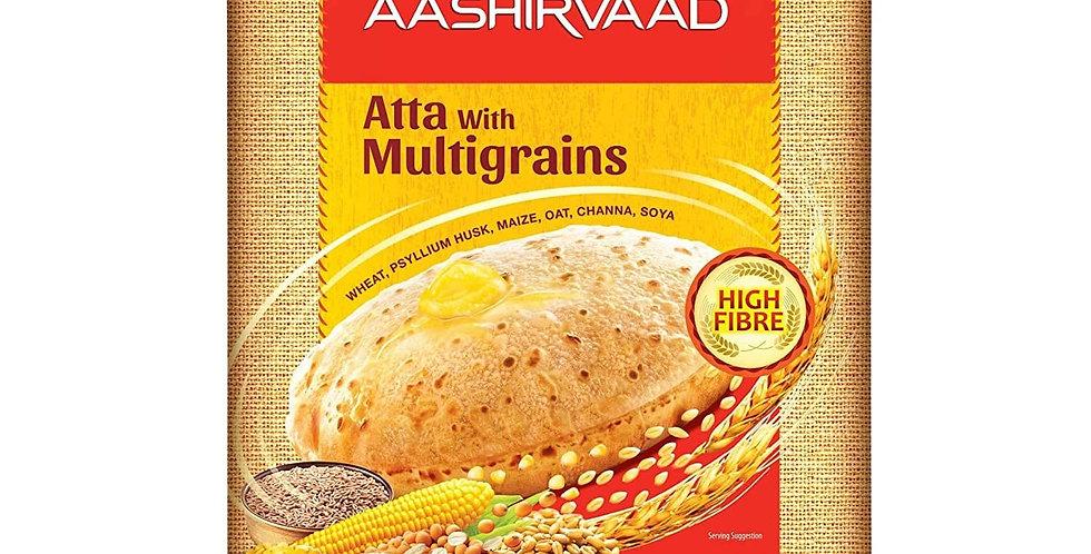 Aashirvaad Atta with Multigrains, 10kg