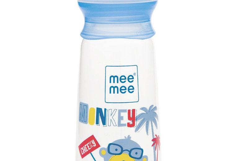 Mee Mee Easy Flo Premium Baby Feeding Bottle (250 ml) Blue