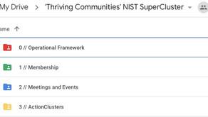 'Thriving Communities' Database Design