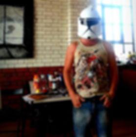 kyle von brown storm trooper star wars the force awakens contact