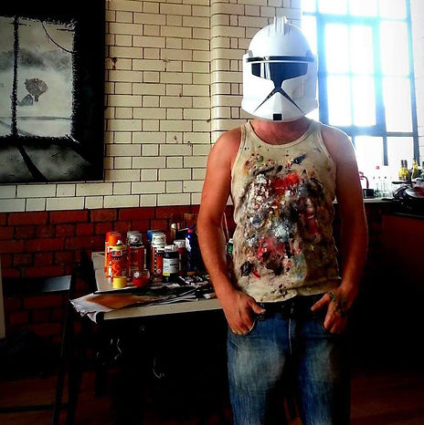 kyle von brown storm trooper star wars the force awakens contact