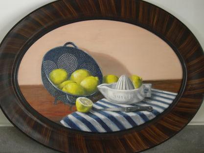 lemons and colander