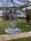 vintage bird feeder