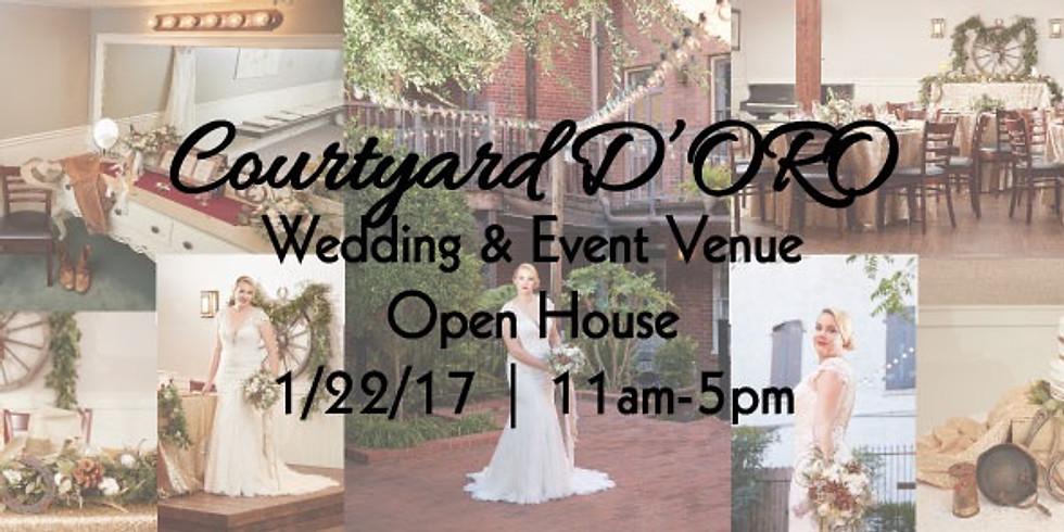 Courtyard D'ORO Open House