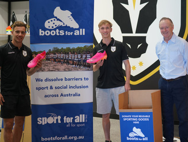Macarthur FC dissolves barriers to sport with Boots For All
