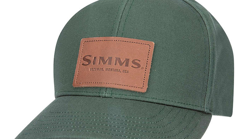 Кепка Simms Leather Patch Cap