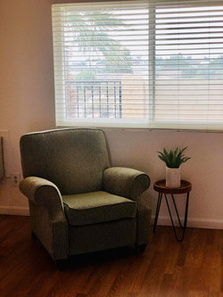 Bedroom Seating Area