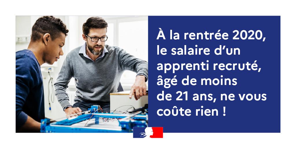 Salaire apprenti de moins de 21 ans