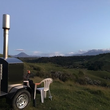 Trailer Outdoor Oven / Outdoor Fire at the Central Plateau.jpg