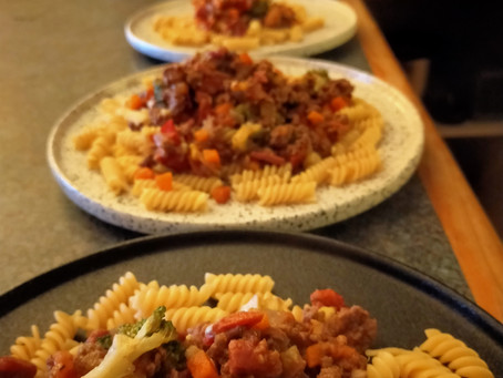 Wood fired Bolognese Sauce